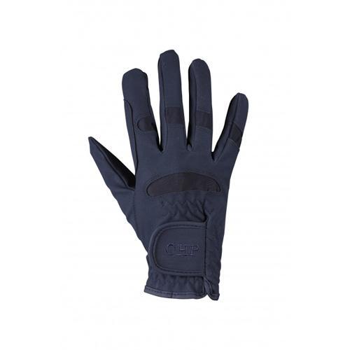 Dětské rukavice QHP, modré - 8 let Rukavice dětské, QHP, modré
