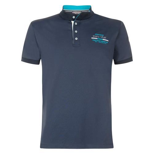 Pánské triko Euro-Star Leith, modré - vel. M Triko pánské Eurostar Leith, modré
