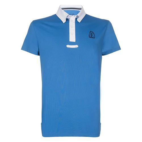 Pánské závodní triko Euro-Star Philippe, středně modré - vel. L Triko pánské Philippe, středně modré