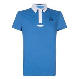 Pánské závodní triko Euro-Star Philippe, středně modré - vel. L