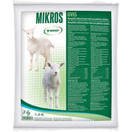 Mléčná náhražka pro jehňata MIKROP OVIS - 3 kg