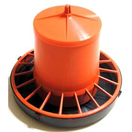 Závěsné poloautomatické tubusové krmítko pro kuřata 6-8 kg