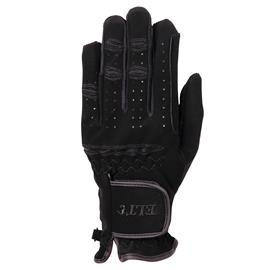 Jezdecké rukavice ELT Waldhausen, černé - L