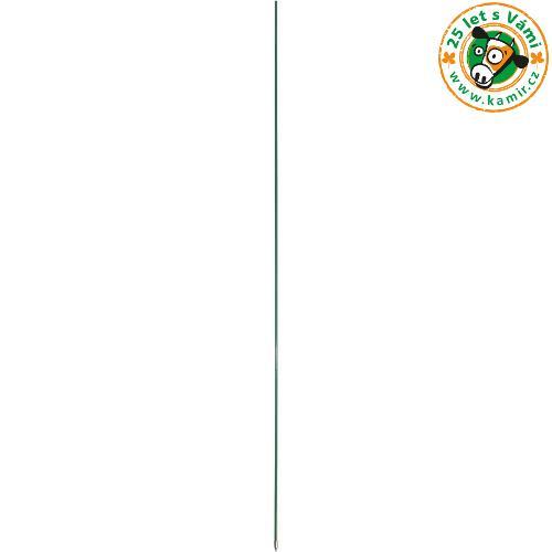 Tyčka pro elektrické ohradníky sklolaminátová s kovovou špičkou, průměr 10 mm - 120 cm Tyčka pro elektrické ohradníky sklolaminátová s kovovou špičkou, průměr 10 mm