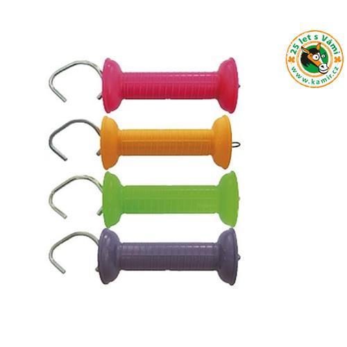 Držák k brance pro elektrické ohradníky STANDARD+, Color, neonové barvy - zelená Držák k brance pro elektrické ohradníky STANDARD+, Color, zelená