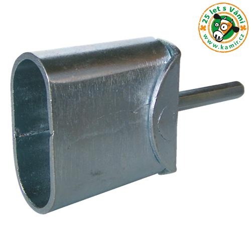 Montážní hlavice kovová - pro kruhové izolátory Montážní hlavice kovová - pro kruhové izolátory