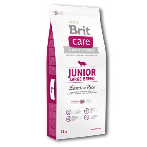 Brit Care Junior Large Breed Lamb & Rice 12 kg Brit Care Junior Large Breed Lamb & Rice 12kg