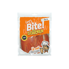 Brit Care Let's Bite Fillet o'Chicken 80g, SLEVA