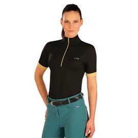 Dámské triko Litex, černo-zlaté - vel. S