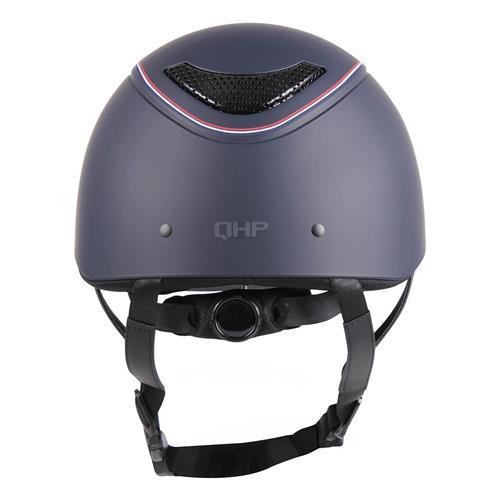 Jezdecká bezpečnostní přilba QHP Dynamic, modrá - vel. M Přilba jezdecká QHP Dynamic, modrá