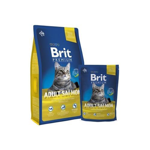 Brit Premium Cat Adult Salmon - 8 kg Brit Premium Cat Adult Salmon 1,5 kg
