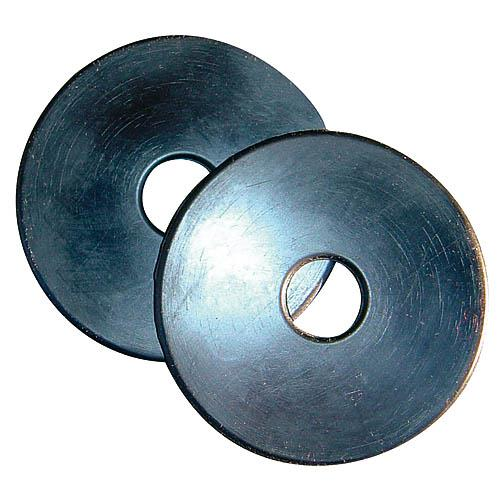 Gumové kroužky k udidlu, černé, pár - vel. Full