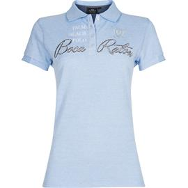 Dámské polotriko HV Polo Glades, žíhané modro-bílé - vel. L