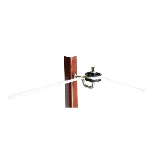 Izolátor pro elektrické ohradníky LISTER, rohový, napínací, M8