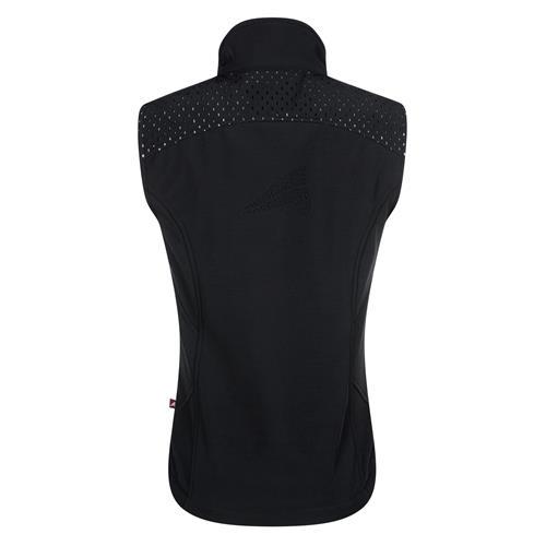 Dámská softshellová vesta Euro-Star Cailyn, černá - vel. XL Vesta dámská Euro-Star Cailyn, černá
