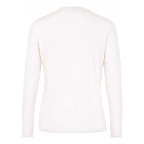Dámské triko s dlouhým rukávem HV Polo Stephany - krémové, vel. M Triko dámské HV Polo Stephany, krémové