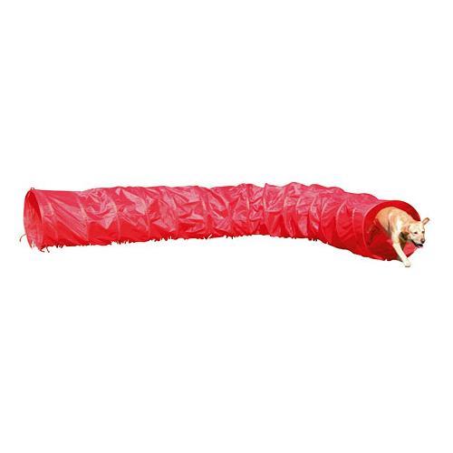 Tunel pro psy Agility, červený, 5 m Tunel pro psy Agility, červený, 5 m