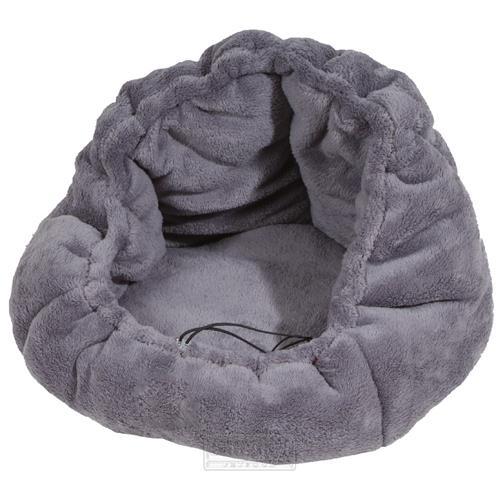 Pelíšek pro psy nebo kočky Adriana, šedý, 40 cm Pelíšek pro psy nebo kočky Adriana, šedý, 40 cm