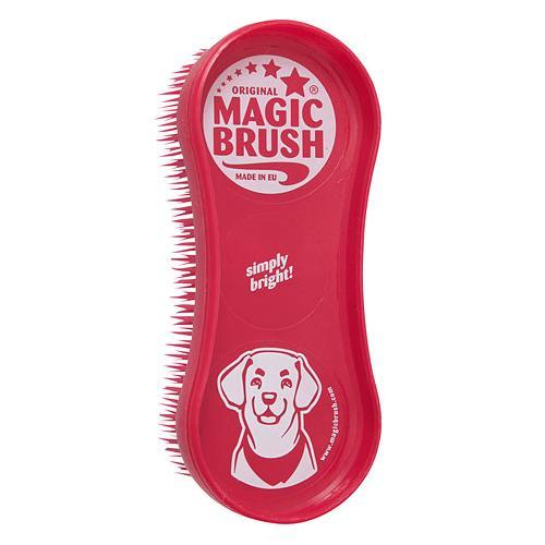 Kartáč na psa MagicBrush, červený Kartáč na psa MagicBrush, červený