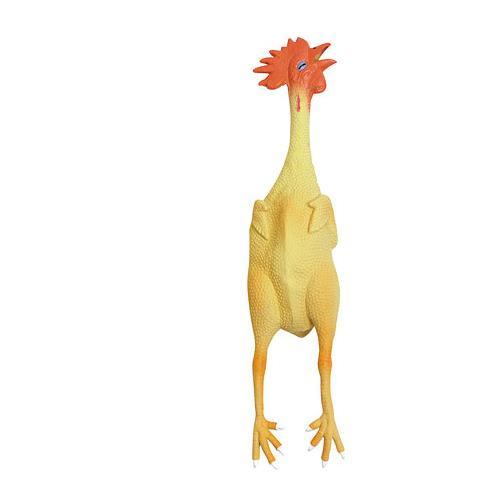 Pískací kuře pro psy, 23 cm Hračka pro psy, kuře, 23 cm