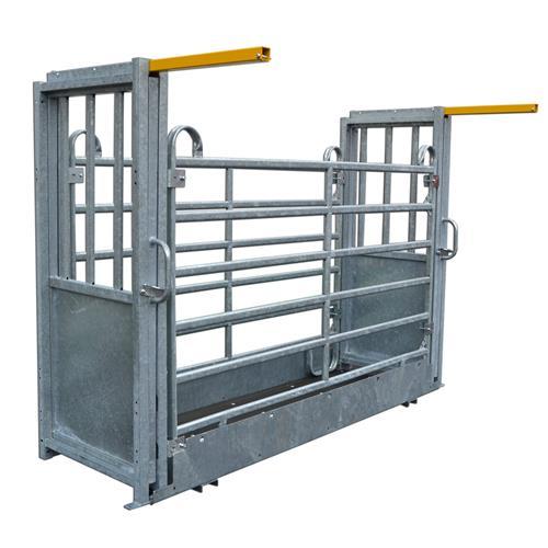 Průchozí žlab pro tenzometrickou váhu komplet - posuvné dveře, pozink