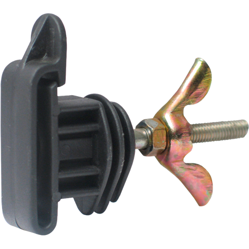 Izolátor pro elektrické ohradníky LACME IRUTIGE s M6 pro pásku do 40 mm Izolátor pro elektrické ohradníky LACME IRUTIGE s M6 pro pásku do 40 mm