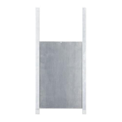 Dveře pro automatické zavírání kurníku - 22 x 33 cm Automat pro otevírání dveří u kurníku do 2,5 kg - dveře Al, posuvné s vodící lištou, 22 x 33 cm
