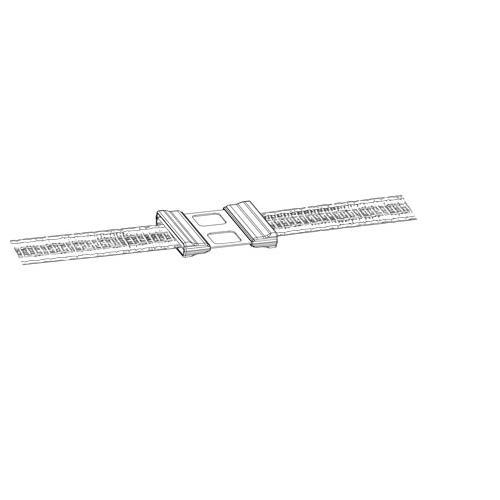 Spojka na pásku nerez - přímá, 5 ks - na 12 mm pásky Spojka na pásku - přímá, 5 ks