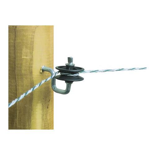 Izolátor pro elektrické ohradníky AKO, rohový, napínací, vrut 7 mm Izolátor pro elektrické ohradníky AKO, rohový, napínací, vrut