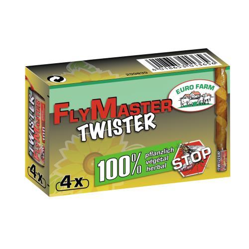Mucholapka TWISTER, klasik, bez chemikálií, 4 ks Mucholapka TWISTER, klasik, bez chemikálií, 4 ks