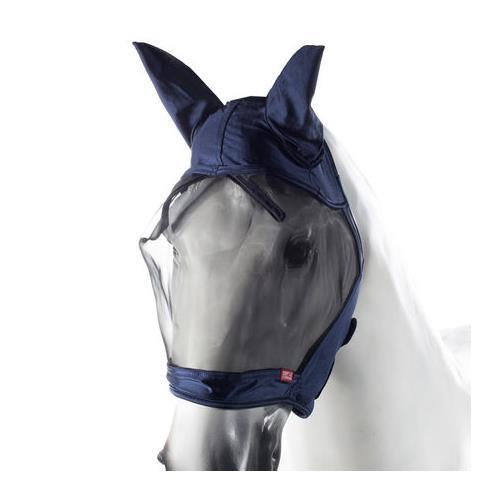 Maska proti hmyzu Horze Cayman, modrá - vel. S Maska Horze Cayman, s ušima, modrá, vel. S