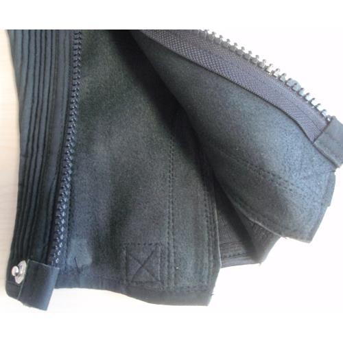 Minichaps Covaliero Amara, velurová kůže, černé - XL Minichaps, velurová kůže, černé