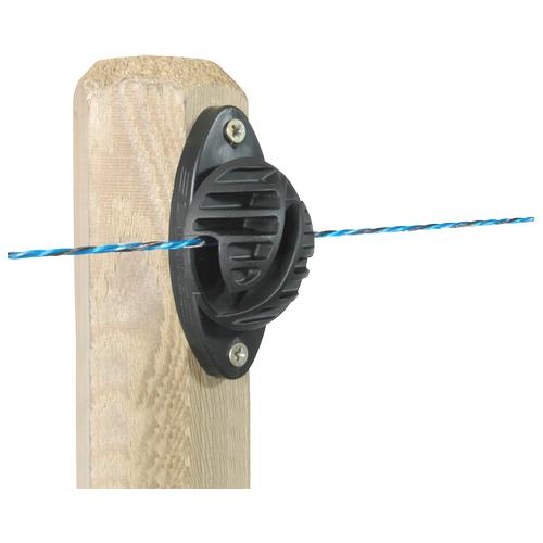 Isolátor pro elektrický ohradník LACME, ISOLINE, pro lanka, dráty a lana, 100 ks v kbelíku Isolátor pro elektrický ohradník LACME, ISOLINE, pro lanka, dráty a lana, 100 ks v kbelíku