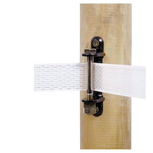 Izolátor pro elektrické ohradníky AKO, rohový se šroubem, pro pásky 40 - 60 mm Izolátor pro elektrické ohradníky AKO, rohový se šroubem, pro pásky 40 - 60 mm