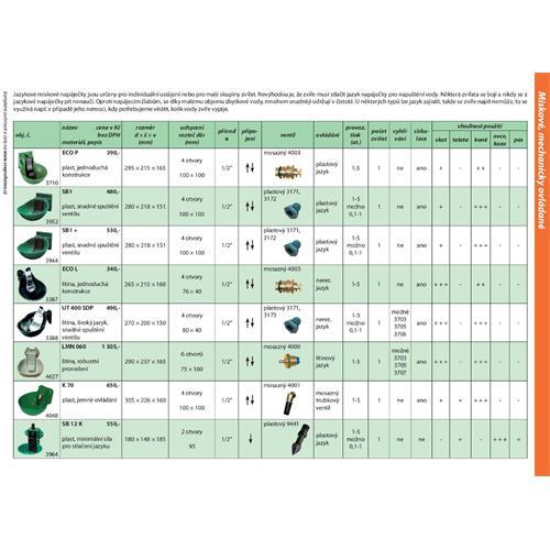 Ventil náhradní pro niplové napáječky P20 a K 70 bez regulace (starší provedení) Ventil náhradní pro niplové napáječky P20 a K 70 bez regulace (starší provedení)