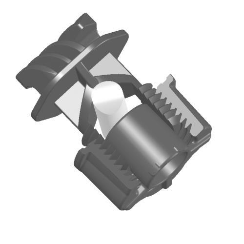 Izolátor pro elektrické ohradníky AKO, VarioPlus - lanko. lano, průměr tyče do 17 mm Izolátor pro elektrické ohradníky AKO, VarioPlus - lanko. lano, průměr tyče do 17 mm