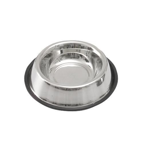Miska  nerezová s gumovou hranou - 450 ml Miska  nerezová s gumovou hranou