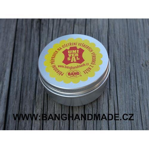 Balzám na kůži BANG se včelím voskem + houbička - 40gr, MINI Balzám BANG s včelím voskem MINI, 40 g
