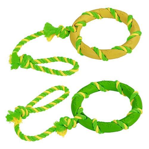 Hračka pro psa kruh na laně, 47 cm Hračka pro psa - kruh na laně, 47 cm