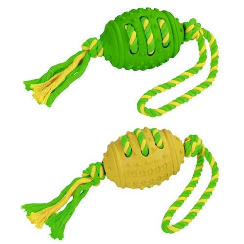 Hračka pro psy míč na laně, 42 cm Hračka pro psa - míč na laně, 42 cm