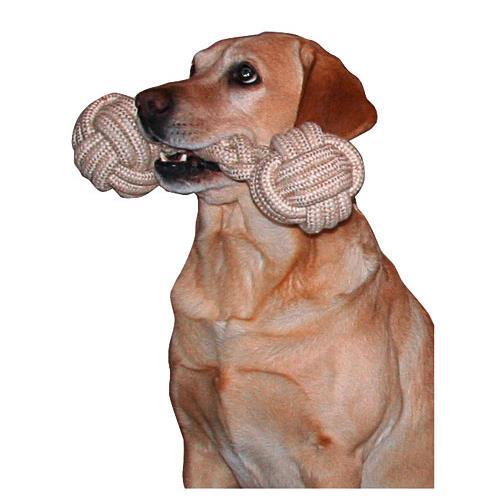 Aportovací kost z lana, 40 cm Hračka pro psa - aportovací kost, 40 cm