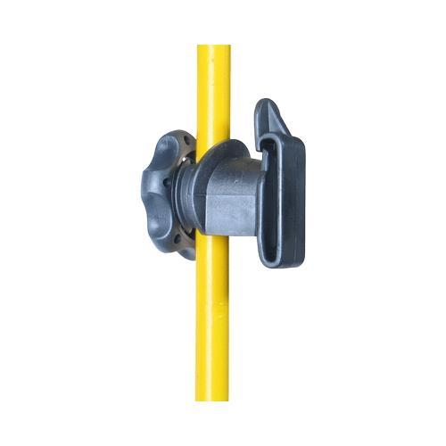 Izolátor pro elektrický ohradník LACME IRUBLOC na sklolaminátové tyče Izolátor pro elektrický ohradník LACME IRUBLOC na sklolaminátové tyče