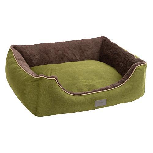 Pelíšek pro psy nebo kočky Samuel, zelený - 50 x 40 x 15 cm Pelíšek pro psa a kočku Samuel, zelený, 50x40x15 cm