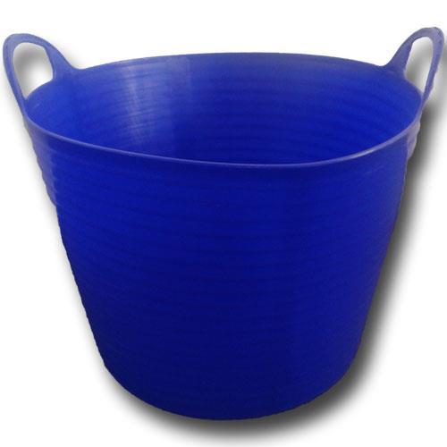Plastový kbelík FLEXI, 26 - 28 l - červená Plastový kbelík FLEXI, 26 - 28 l