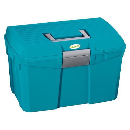 Box na čištění s vyjímatelnou přihrádkou SIENA - tyrkysový Box na čištění s vyjímat.př. SIENA, tyrkysový