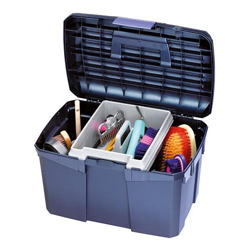 Box na čištění s vyjímatelnou přihrádkou SIENA - tyrkysový Box na čištění s vyjímatelnou přihrádkou SIENA, tyrkysový