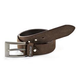 Dámský kožený pásek Pikeur - hnědý, 75 cm