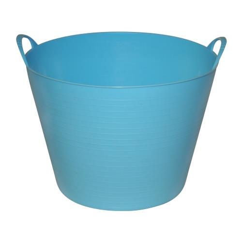 Plastový kbelík FLEXI, 42 - 45 l - červená Plastový kbelík FLEXI, 42 - 45 l