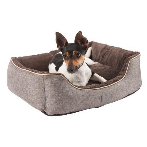 Pelíšek pro psy nebo kočky Samuel, šedý - 50 x 40 x 15 cm Pelíšek pro psa nebo kočku Samuel, šedý, 50x40x15 cm