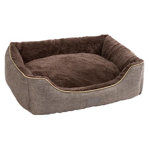 Pelíšek pro psy nebo kočky Samuel, šedý - 60 x 50 x 17 cm Pelíšek pro psa nebo kočku Samuel, šedý, 60x50x17 cm